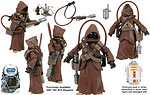 Jawa & WED Treadwell Droid (BD 33) - Hasbro - The Legacy Collection (2009)