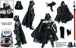Battle-Damaged Darth Vader (GH 3) - Hasbro - The Legacy Collection (2008)