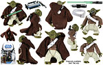 Yoda & Kybuck (SL 2) - Hasbro - The Legacy Collection (2008)