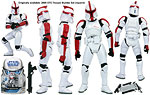 Clone Trooper Officer (SL 12) - Hasbro - The Legacy Collection (2008)