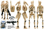 Battle Droids (SL 20) - Hasbro - The Legacy Collection (2008)