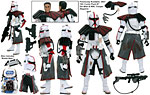 ARC Trooper Commander (SL 23) - Hasbro - The Legacy Collection (2009)