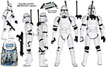 Clone Trooper (Revenge of the Sith) (SL 27) - Hasbro - The Legacy Collection (2009)