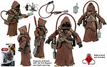 Jawa & WED Treadwell Droid (BD04) - Hasbro - Legacy Collection (2009)