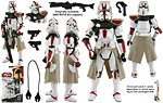 Clone Commander Deviss (BD37) - Hasbro - Legacy Collection (2009)