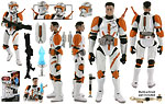 Clone Commander Cody (BD44) - Hasbro - Legacy Collection (2009)