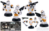 Utapau Trooper (Battle Damaged with rifle) (Clone Trooper Army Builder Set 3) (SWS.com)