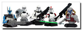 Clone Wars: Clone Trooper Bust-Ups Box Set