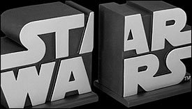 Star Wars Bookends - Borders Exclusive