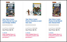 Comic Packs On Sale At TRU!