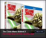 The Clone Wars Season 2 DVD/Blu-ray