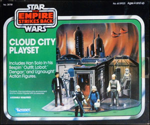 Vintage Sears Cloud City Playset