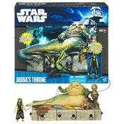 Jabba's Throne Playset at Entertainment Earth