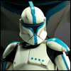 Sideshow Collectibles 12 Inch Clone Trooper Lieutenant