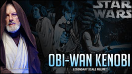Sideshow Collectilbles Obi-Wan Kenobi Legendary Scale Figure