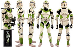442nd Siege Battalion Clone Trooper (Sideshow Collectibles)