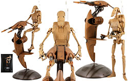 S.T.A.P and Battle Droid - 1:6 Scale Figure - Sideshow Collectibles