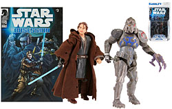 Anakin Skywalker & Durge Comics Pack - TLC