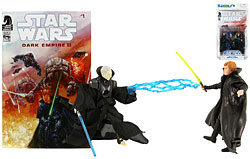 Emperor Palpatine Clone & Luke Skywalker Comics Pack - TLC