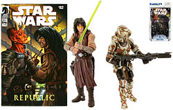 Commander Faie & Quinlan Vos Comics Pack - TLC