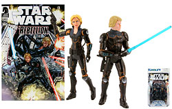 Luke Skywalker & Deena Shan Comics Pack - TLC
