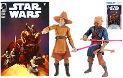 Ki-Adi-Mundi & Sharad Hett Comics Pack - TLC