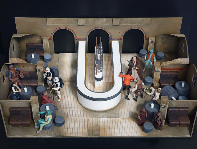 Jedi Temple Archives News Awesome Cantina Diorama