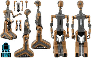 FA-4 (Count Dooku's Pilot Droid) - Legacy Collection [2] - Build A Droid