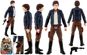 Han Solo [Bespin Outfit] - Saga Legends (SL24)