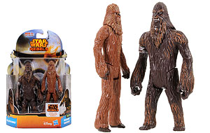Wullffwarro and Wookiee Warrior  - Mission Series (MS07)