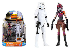 Sabine Wren and Stormtrooper - Mission Series (MS08)