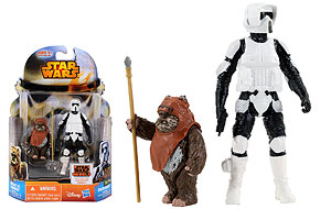 Wicket W. Warrick and Biker Scout  - Mission Series (MS10)