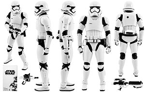 First Order Stormtrooper - Six Inch - The Black Series [Phase III]