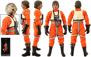 Luke Skywalker (Red Five X-wing Pilot) - Sideshow Collectibles - 1:6 Scale Figure
