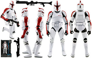 Clone Trooper Captain (#13) - Six Inch - The Black Series [Phase II]