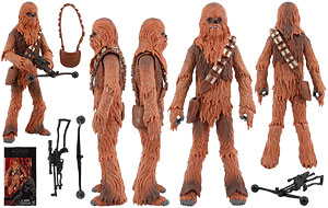 Chewbaccs (05) - The Black Series - Six Inch Figures