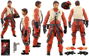Poe Dameron (07) - The Black Series - Six Inch
