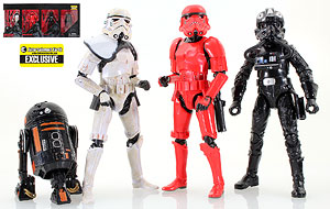 Imperial Forces 4-Pack - The Black Series - Six Inch