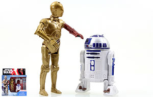R2-D2/C-3PO - The Force Awakens - two-packs