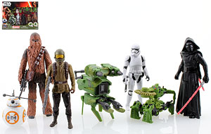 Kohl's Exclusive Set - The Force Awakens - Build A Weapon