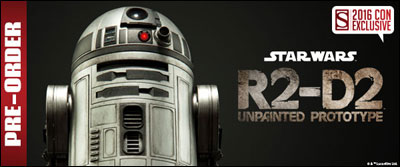 Image result for Sideshow unpainted R2-D2