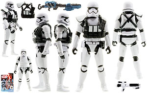First Order Stormtrooper Squad Leader - The Force Awakens - Build A Weapon