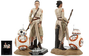 Rey & BB-8 Set - Hot Toys - Sixth Scale Figures