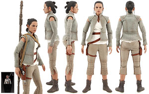 Rey (Resistance Outfit) - Hot Toys - Sixth Scale Figures