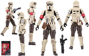 Scarif Stormtrooper Squad Leader - The Black Series - 3.75