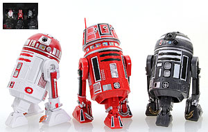 R2-A3, R5-K6, and R2-F2 - The Black Series Exclusive