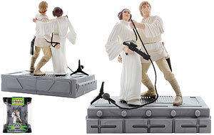 Luke Skywalker and Princess Leia Organa (Swing to Freedom) - Power of the Jedi - Silver Anniversary