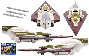 Kit Fisto's Jedi Starfighter - The Clone Wars [Shadow of the Dark Side] - Vehicles