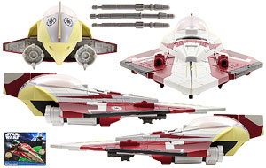 Obi-Wan's Jedi Starfighter - The Clone Wars [SOTDS] - Vehicles