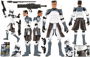 Clone Commander Wolffe (CW48) - The Clone Wars [SOTDS] - Basic Figures
